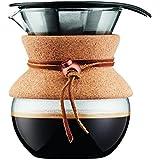 Bodum 11592 – 109 pour over – Cafetera con filtro permanente 0,5 l, mehrla Gig, transparente, 13,8 X 11,5 X 15,4 cm