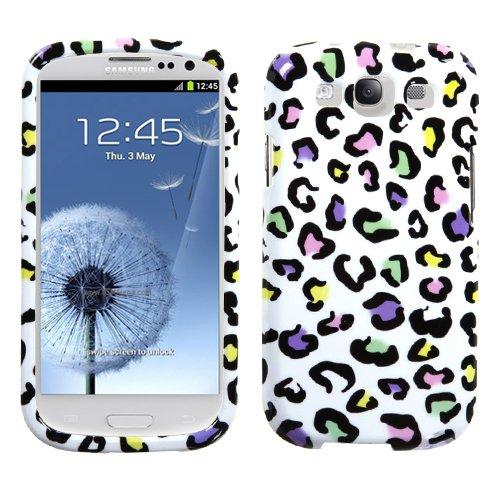 Colorful Leopard Frontplatte, Hard Kunststoff Protector Snap on Cover Case für Samsung Galaxy S 3i9300T999 Leopard Hard Case Cover