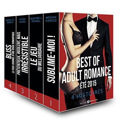 Couverture du livre Best of Adult Romance - été 2015