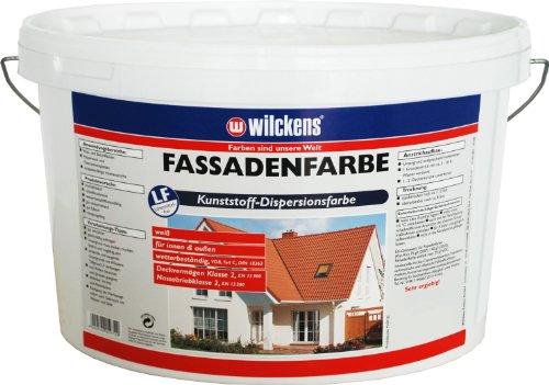 Wilckens Fassadenfarbe Weiss, Wandfarbe, 5L