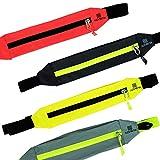 nonbak Zipper Belt Running, Unisex Erwachsene Halterung Einheitsgröße Lachsfarben