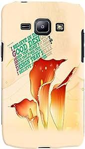 PrintVisa Quotes Design Case Cover for Samsung Galaxy J1