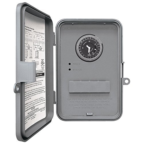 Intermatic WHAVQ4 DPST Electromechanical 24-Hour Timer by Intermatic - Dpst-timer