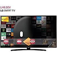 "LG 43LH630V - TV de 43"" (Full HD 1920 x 1080, Smart TV webOS 3.0, WiFi, HDMI, USB) negro"