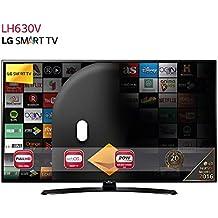 "LG 43LH630V - TV de 43"" (Full HD 1920 x 1080, Smart TV webOS 3.0, WiFi, HDMI, USB) negro"