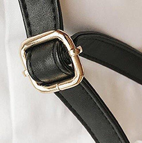 Transparente Wilde Handtaschen Umhängetasche Handtasche Hardware Haken Gold