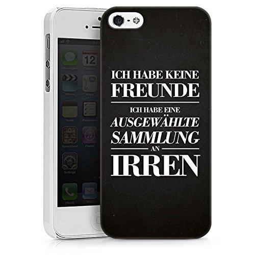 Apple iPhone X Silikon Hülle Case Schutzhülle Freunde Freundschaft Lustig Hard Case weiß
