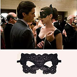 acustyle (TM) Hohl Make-up Party Ball Fancy Kleid Masken Catwoman Batman Sexy Spitze Nice Ping