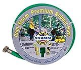 Dramm 17034Colorstorm Premium Gummi Gartenschlauch, 25'x 1/5,1cm grün