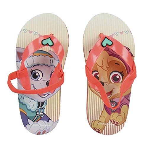 Characters cartoons paw patrol - 32/33 infradito flip flop ciabatte mare piscina - bambina - novità prodotto originale 23-30xx