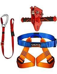 Fusion Climb Juego para correa para patio trasero para niños Kit para arnés para correa FK-K-HLT-04