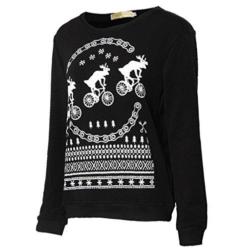 Ouneed® Sweat Shirt Verlous Noir