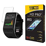 #10: Taslar(TM) Garmin vívoactive HR Smart Watch Tempered Glass Screen Protector, High Definition, 9H Hardness, 0.3mm Thickness, Shatterproof, Delicate Touch, Oleophobic Coating, Real Glass