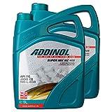 2X Addinol Motoröl Motorenöl Motor Motoren Motor Oil Engine Oil 2-Takt Super Mix Mz 405 (Rot Gefärbt) 5L