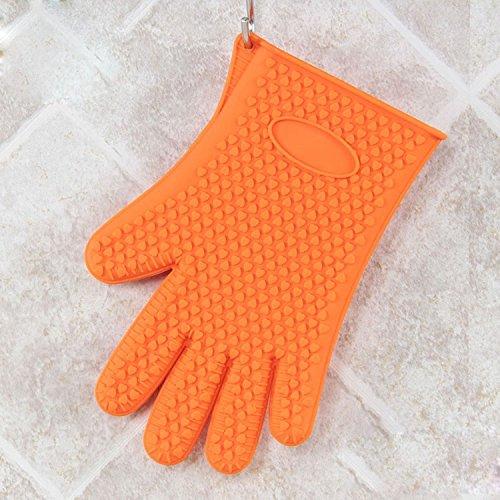 lpkone-gloves-gloves-gloves-silica-gel-anti-slip-microwave-oven-gloves-singleorange