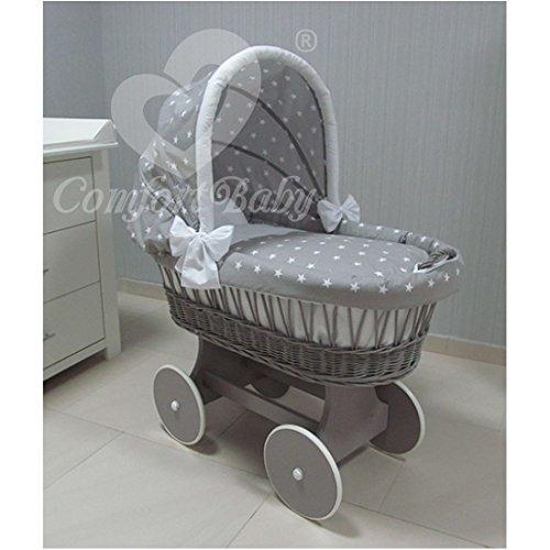 ComfortBaby Snuggly Baby Stubenwagen - komplette 'all inclusive' Ausstattung - Zertifiziert & Sicher