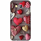 Printland Designer Back Cover For Samsung Galaxy Grand Prime SM-G530H - Cushion Heart Cases Cover best price on Amazon @ Rs. 249