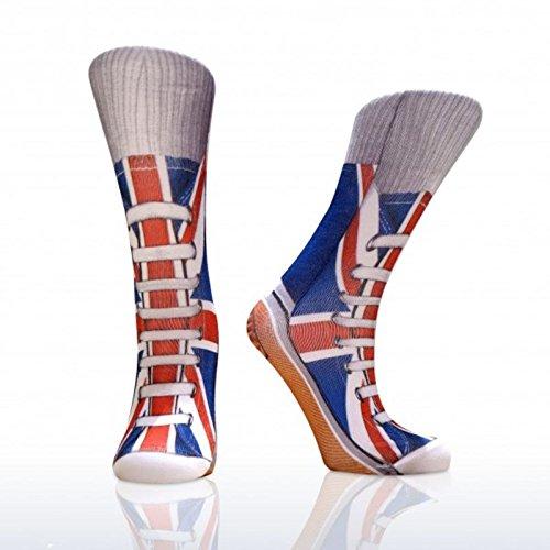 Union Jack Sneaker Socken - Turnschuhe Sneaker im Paar