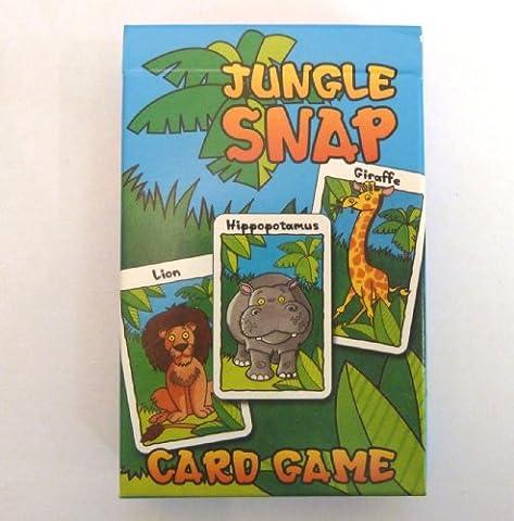 JUNGLE SNAP - Children's Card Game (Family Fun)