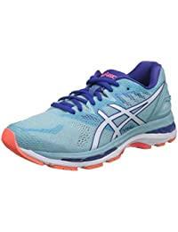 Asics Women's Gel-Nimbus 20 Running Shoes, Bright Rose/Apricot Ice