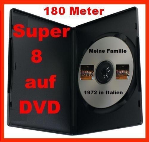180 Meter SUPER 8 auf DVD Projektor DIGITALISIEREN ÜBERSPIELEN KOPIEREN (Super-8-projektor)
