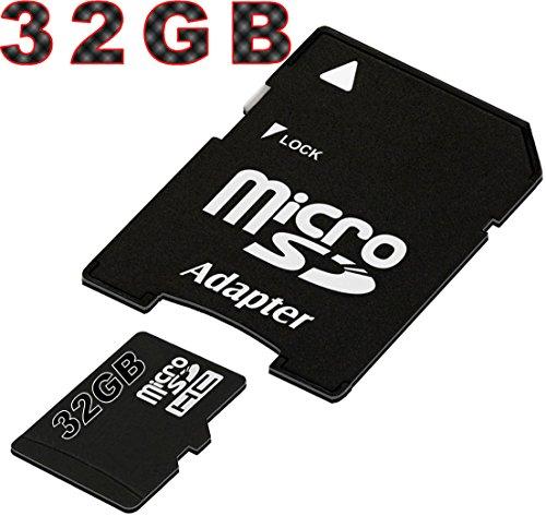 tomaxx micro SDHC Speicherkarte 32GB Class 10 Kompatibel zu: LG Leon 4G, LG G4, LG Spirit 4G, LG Leon 4G, LG Magna, LG Joy, LG G3