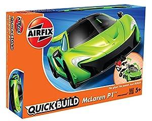 Airfix McLaren P1 Kit de Montaje Modelo a Escala de Coche Modelos de vehículos de Tierra (Kit de Montaje, Modelo a Escala de Coche, McLaren P1, 5 año(s), Negro, Verde)
