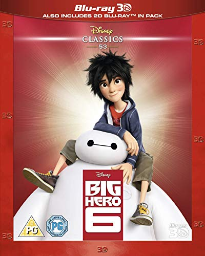 Big Hero 6 [Blu-ray] [UK Import]