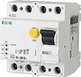 Eaton 167894 Digitaler Allstromsensitiver FI-Schalter, 63A, 4P, 30Ma, Typ G/B