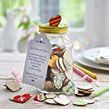 Always Amore Libro degli ospiti di nozze cuori di legno su cui scrivere, libro degli ospiti alternativo per nozze, battesimi, cresime, comunioni, regalo di nozze con cuori di legno