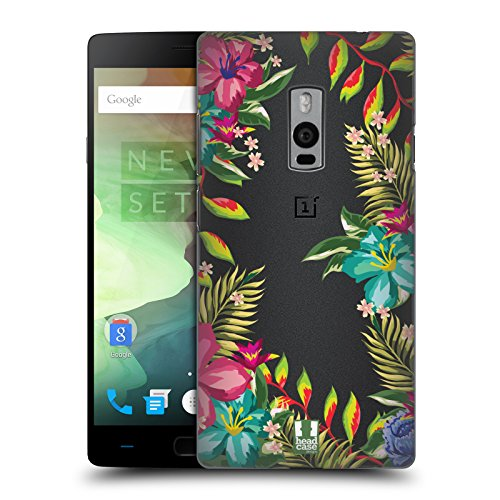 Head Case Designs Tropisch Flower Power Ruckseite Hülle für OnePlus 2 / Two