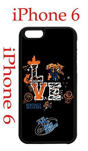 Kentucky Wildcats iPhone 6 4.7 Case Hard Silicone Case