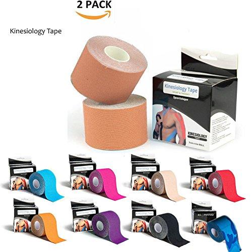 51ZaH25z60L UK BEST BUY #1Kinesiology Tape (Skin(2 Pack))
