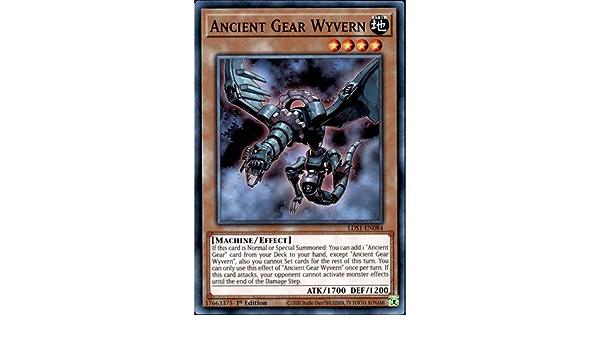 Ancient Gear Wyvern LDS1-EN084 Common 1st NM Yugioh