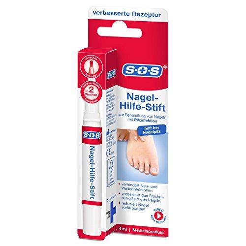 SOS Nagel-Hilfe-Stift bei Nagelpilz | Neu verbesserte Rezeptur | zur Behandlung von Nägeln mit Pilzinfektion (1)