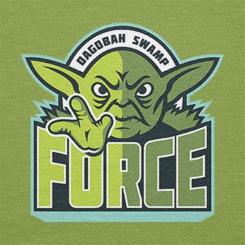 TEXLAB - Dagobah Swamp Force - Damen T-Shirt Kiwi