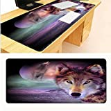 Die besten Cafe Mouse-Pads - JUNHONGZHANG Rubber Gaming Mouse Pad Computer Notebook Large Bewertungen