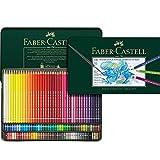 Faber-Castell Albrecht Dürer Aquarelle Couleur crayon–Bois, multicolore, 6pans, Multi)