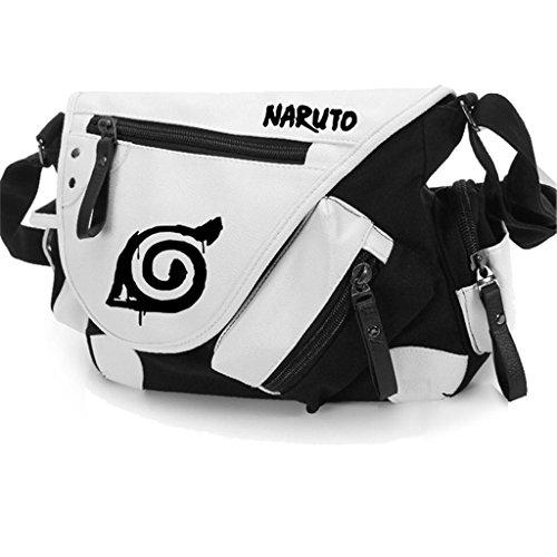 Yoyoshome giapponese anime Cosplay zaino tracolla borsa messenger a tracolla nero Guilty Crown Naruto3