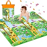 Best Baby Play Mats - Sasimo Double Sided Baby Mat Waterproof Review