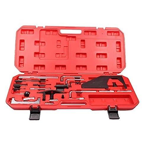 Qbace Engine Timing Tool Kit Crank Cam Lock Flywheel Fuel Inject Belt Pulley