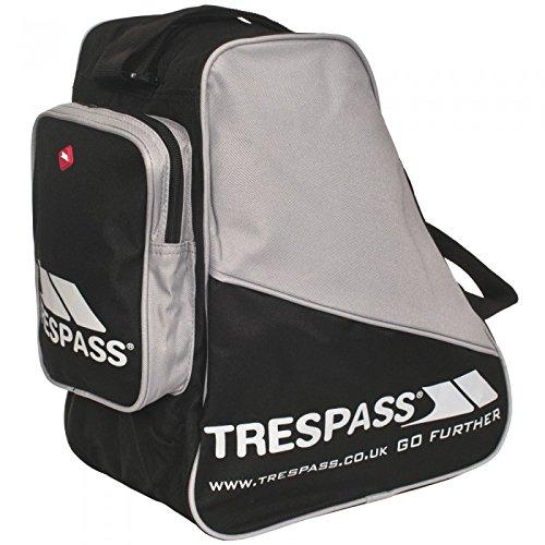 Trespass - Mochila para botas de Esquí Modelo Stormfront - Nieve/Snowboard (Talla Única/Negro)