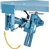 Heuer Abklapplift - Höhenverstellbar/Drehbar für Schraubstock mit 140 mm Backenbreite