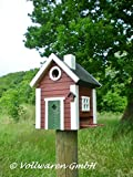Wildlife Garden - Schwedenkate - Red Cottage Plus - Vogelhaus, Vogelfutterhaus - WG101