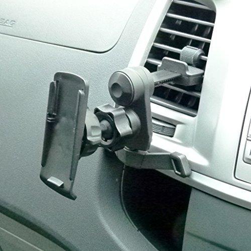 BuyBits Easy Fit KFZ Entlüftungsgitter-Halterung/Abluftstutzen-Halterung für Garmin GPSMAP 62 62s 62sc 62st 62stc 64s 64 64st