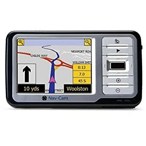 "Nav-Cam 7500 4.3"" Sat Nav UK and Ireland Maps"