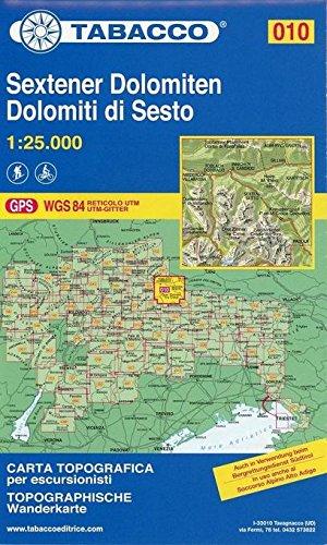 Dolomiti di Sesto 1:25.000 (Carte topografiche per escursionisti) por TABACCO