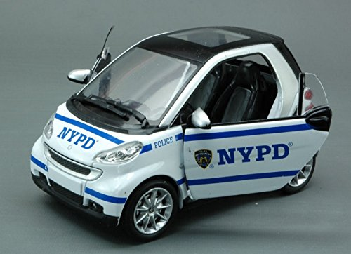 new-ray-ny71203-smart-fortwo-nypd-new-york-city-124-modellino-die-cast-model