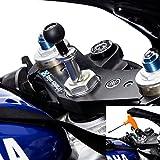 UltimateAddons Support de moto à tige Empiècement Support vélo et plat Adaptateur Plaque pour caméras embarquées GoPro Hero