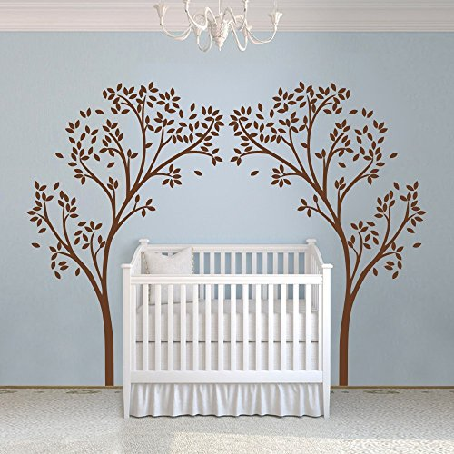 vinyl-nursery-tree-decal-tree-canopy-portal-wall-sticker-tree-wall-graphic-wall-mural-home-art-decor